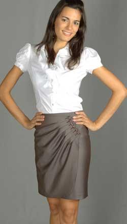 Выкройка юбки с запахом - Антонина Каваева - дизайнер.