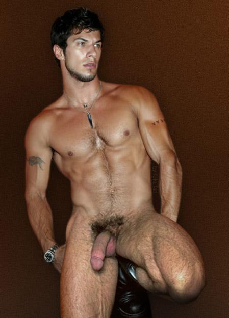 голый мужик в бане фото