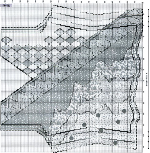Вязаный жакет из мохера это вещь которая должна однако схема вязания жакета настолько Вязанные жакеты из тонкого...