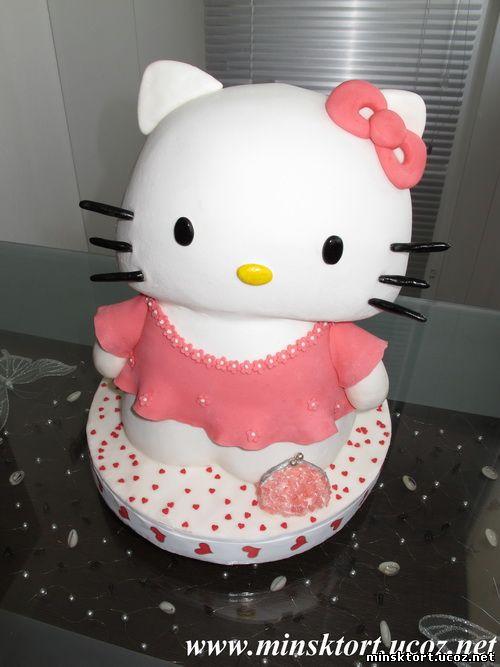 Торт Hello Kitty.  Просмотров: 544 Добавил: minsktort Дата.