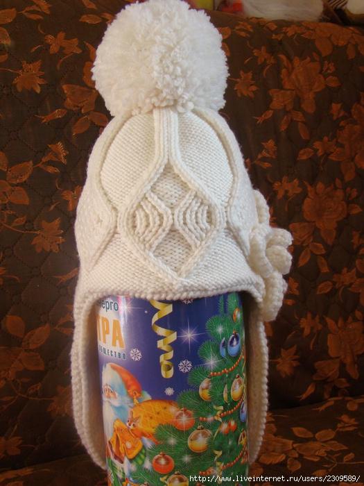 Зимние шапки для девочек 3