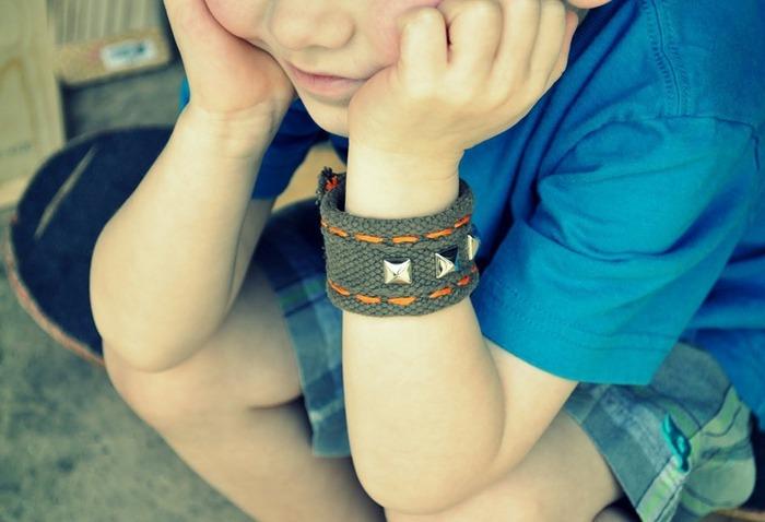 Сделать браслет для мальчика