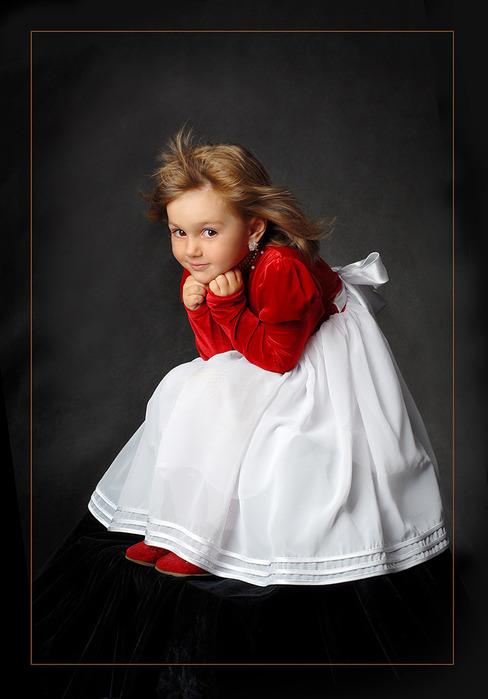 Однофамилец Калинкина - ребенок девочка четырех лет.