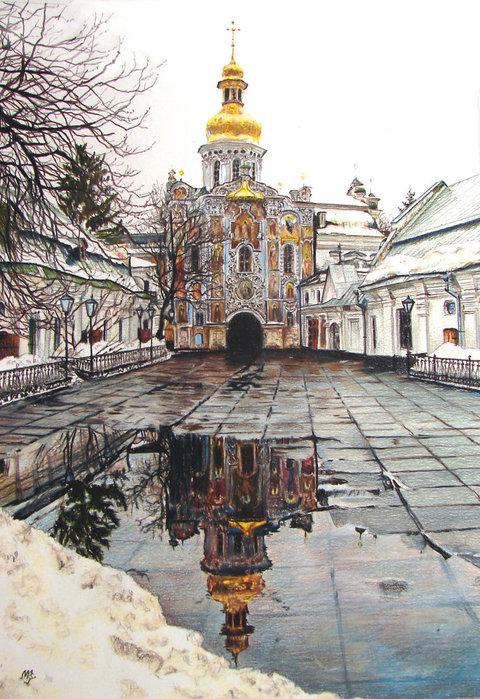 Киев в картинах. Печерская Лавра ...: blogs.privet.ru/community/Kiev-Gorod/103260746