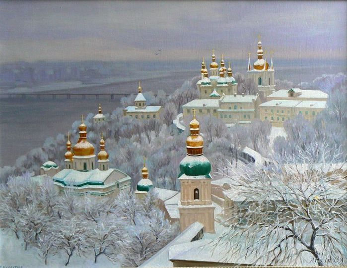Киев в картинах. Печерская Лавра: www.liveinternet.ru/users/re_nata/post156203138