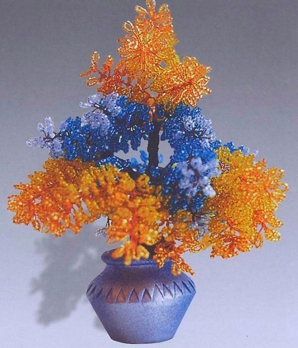 Дерево из пайеток своими руками фото 180