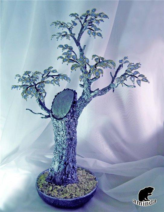 Бисероплетение: деревья из бисера (красивые фото) .