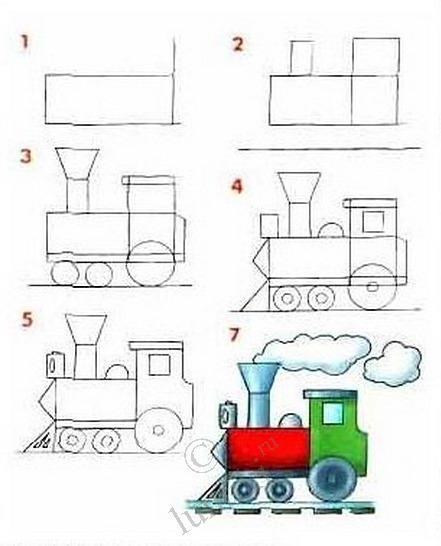 Как нарисовать танк карандашом поэтапно.  Для начала определитесь.