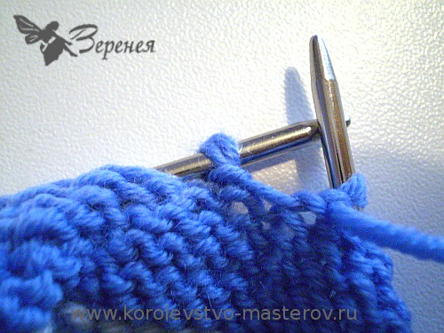 Вязание на спицах. Закрытие петель последнего ряда