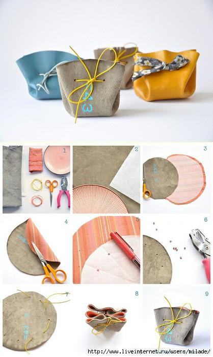 Сделать сумочку для подарков своими руками