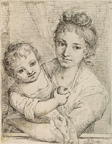 Кауфман, Ангелика - Мать с ребенком, держащим яблоко.  Вы вошли как незарегистрированный пользователь и просмотр...