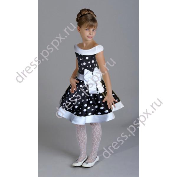 детские бальные платья.