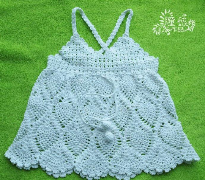 Summer Crochet Patterns : Pin Crochet Pineapple Top For Summer Crochet Pattern on Pinterest