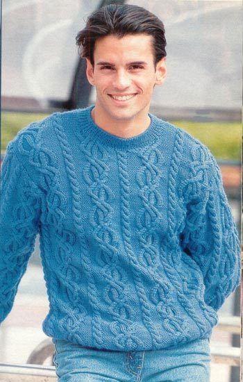 мужские свитера вязание