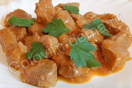 Если Вы хотите приготовить рецепт приготовления гуляша из свинины - Вы.
