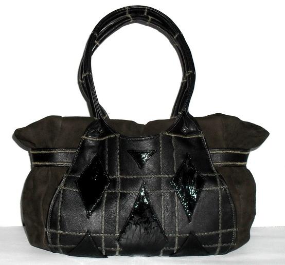 сумка из кожи выкройка