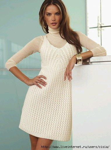 Описание: вязаные платья крючком для девочек со схемами.