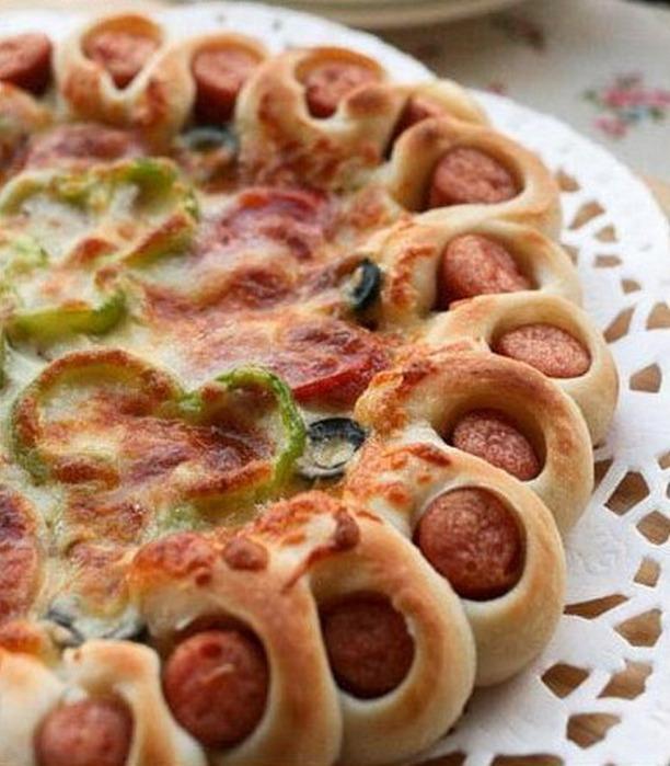 Фото рецепт края пиццы