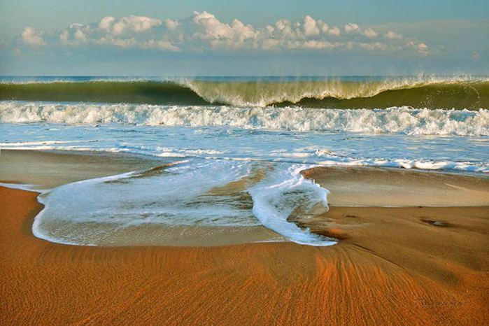 Отдых в Крыму. фото песчаных пляжей Берегового.