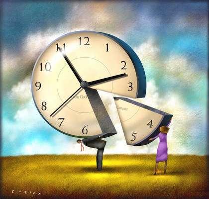 Есть страны, которые не переводят часы ...