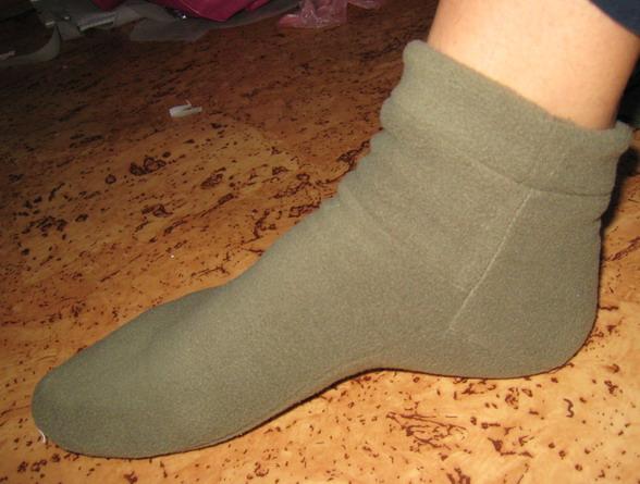 Как самому сделать носки 130
