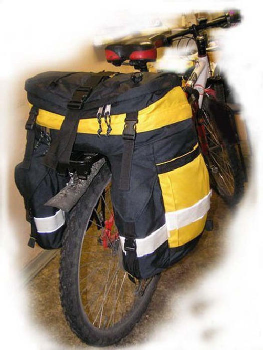 Рюкзак на велосипед своими руками 66