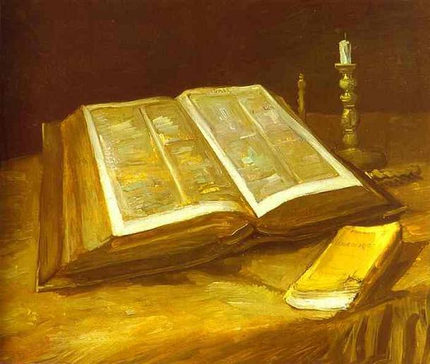 постер Still Life with Bible/Натюрморт с Библией.