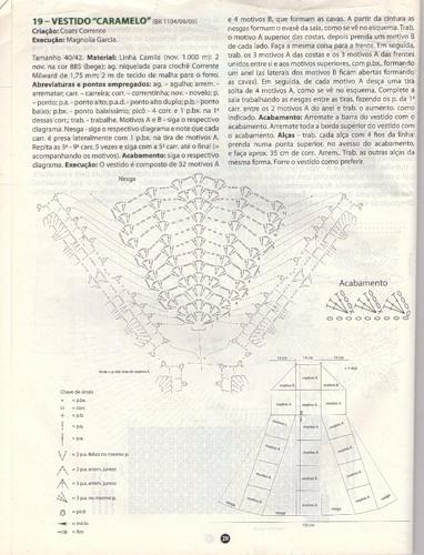 Часть 99. платье-крючок. обозначение японских схем. как сделать край нерегулярной сетки.  Часть 100. туника.