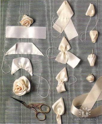 Пояс из ткани на платье своими руками