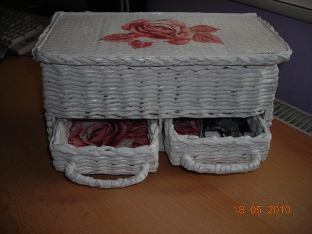 Коробка из газет своими руками и крышка 1033