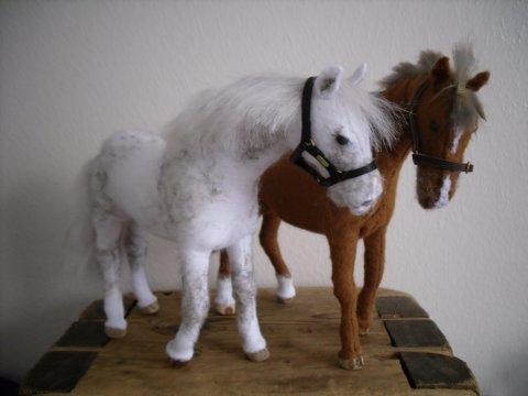 Делаем лошадей своими руками