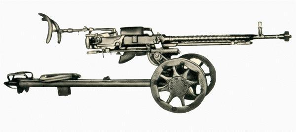 Пулемет ДШК был создан в 1930-е годы В.Дегтяревым, усовершенствован Г.Шпагиным и в 1938 г. принят на вооружение...