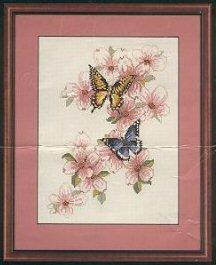 Bucilla 40460 Butterflies &Dogwood (216x265, 13Kb)