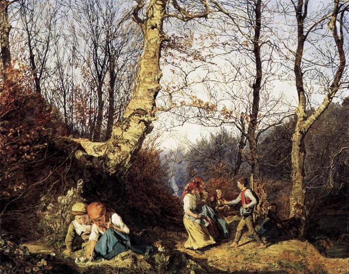 2010239_Fedinand_Georg_Waldmueller_Early_Spring_in_the_Wienerwald_1864 (700x549, 403Kb)