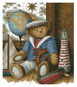 00312 Sailor bear (319x359, 37Kb)