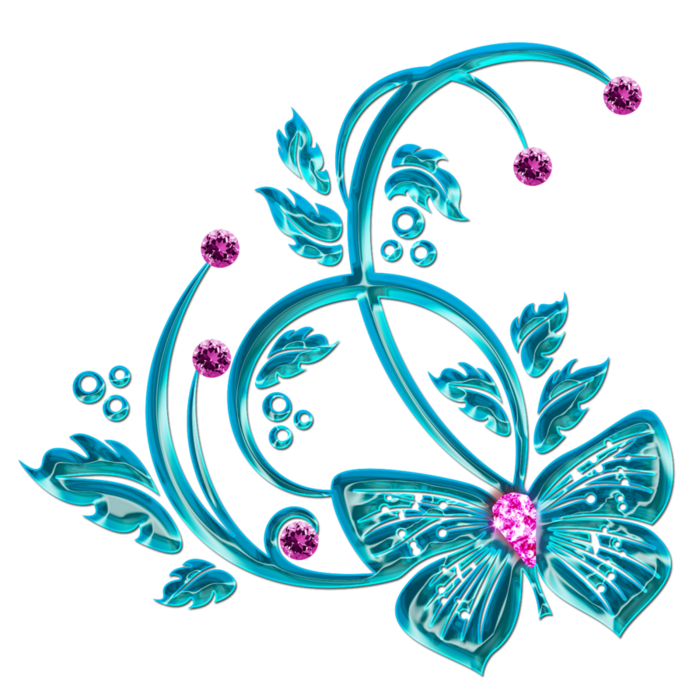 Graceful decorative embellishment by DiZa (12) (700x700, 412Kb)