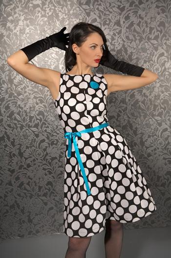 Подборка фотографий позволит выбрать платье в горошек по вкусу,найти.