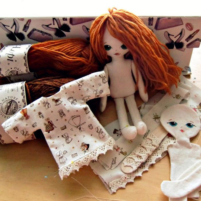 Сделать куклу из ткани своими руками