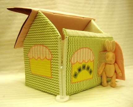 Кукольный дом сшить мк