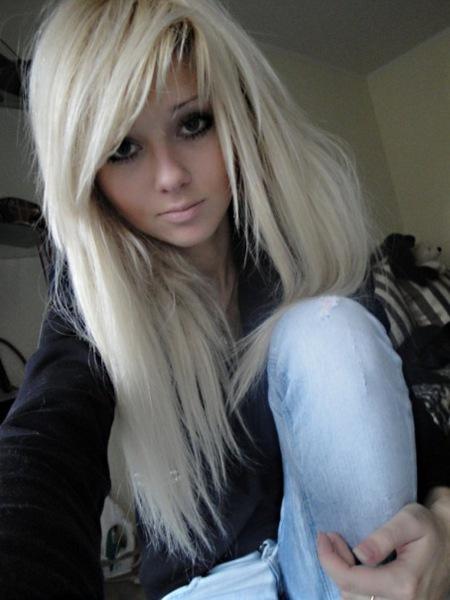 Красивые девушки эмо фото блондинки фото 664-441