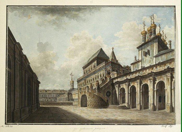 Боярская площадка. 1810-е годы. (700x508, 104Kb)