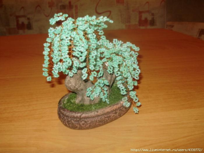 бисероплетение для начинающих со схемами деревья. из бисера дерево. бисероплетение для чайников. бісер незабудка...