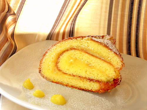 recipe – roll with lemon