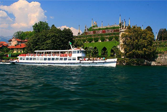 Дворец Борромео ( итал. Isola Bella - красивый остров ) 66699