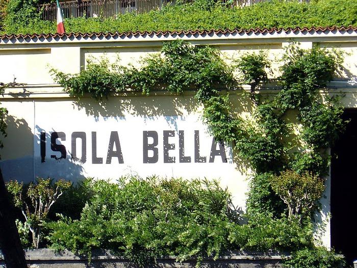 Дворец Борромео ( итал. Isola Bella - красивый остров ) 55517