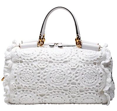 Вязаные сумки Dolce&Gabbana, весна-лето 2011.