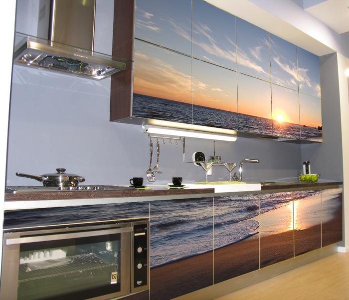 Фартук для кухни из стекла managementpro.ru
