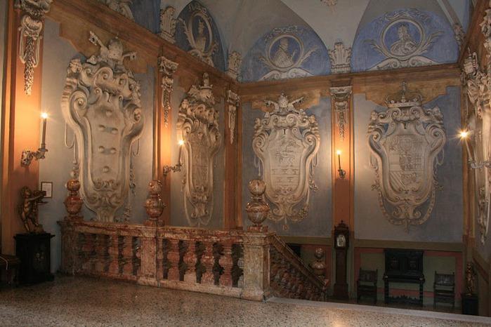 Дворец Борромео ( итал. Isola Bella - красивый остров ) 88513