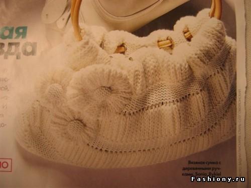 Шкатулка вязания, Бежевая сумочка, Крючок, вязать, схемы,спицы, вязаная...