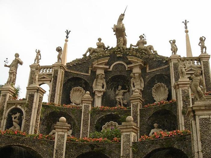 Дворец Борромео ( итал. Isola Bella - красивый остров ) 82496